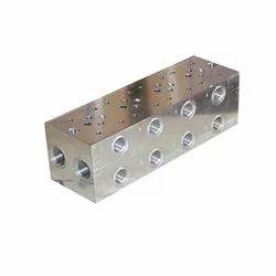 Hydraulics Manifold Block