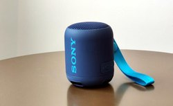 Rechargeable Blue & Black Sony SRS XB12, Size: Small
