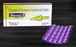 Olanazipine 5 mg/10 mg & Fluoxetine 20 mg