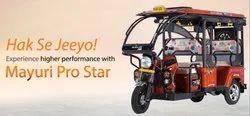 Mayuri Pro Star,座位能力:4 + 1