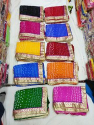Chunri Saree With Border