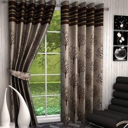 Printed Designer Cotton Window Curtains
