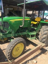 Johndere Green Used Tractor, 2017