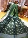 Matka Silk Sequins Saree