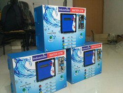 Water ATM With GSM Mobile System