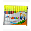 Plastic Spartex Junior Sketch Pen, For Colouring, Packaging Type: Packet