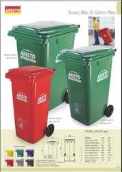 Aristo Wheeled Dustbin
