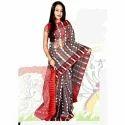 Silk Cotton Dhakai Saree