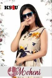 Mohini Heavy Rayon With Digital Printed Anarkali Kurtis