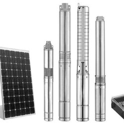 Solar Submersible Water Pumping System