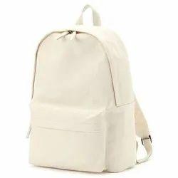 Plain Ladies Canvas Handbag