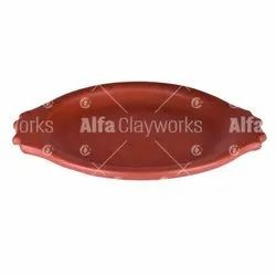 Terracotta Clay Tawa / Dosa Pan