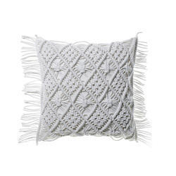 Luxurious Cotton Macrame Pillow Case Boho Cushion Covers