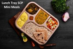 Bagasse Mini Meal Lunch Tray