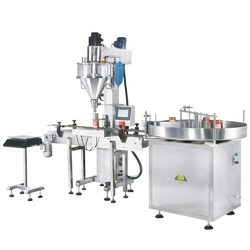 Powder Bottle Filling Machine