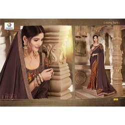 Rachna Art Silk Digital Printed Imprint Catalog Saree For Women 7