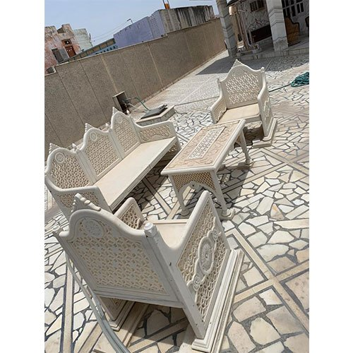 Five Seater Marble Sofa Set