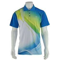 Sublimation Collared T-Shirt