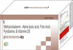 Methylcobalamin, Alpha Lipoic Acid, Folic Acid, Vitamin D3 Pyridoxine Tablets