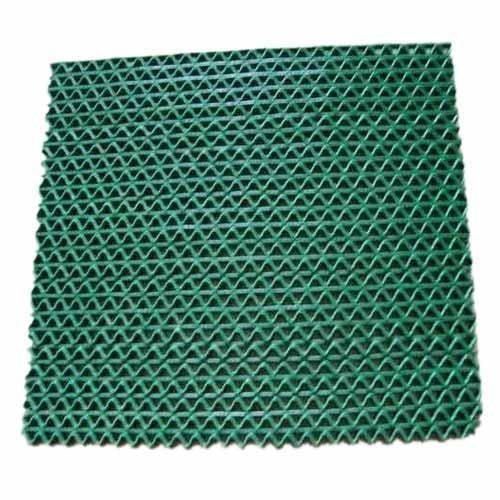Plastic Floor: Green Plastic Floor Mat, Rs 75 /piece, Kumar Traders