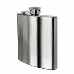 Easy Sip Liquor & Alcohol Drinks Wine Whiskey Or Whisky Holder Pocket Bottle Stainless Steel Hip