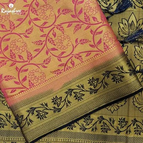 Suhagan Brocket Fancy Saree, Length: 6 m with Blouse Piece