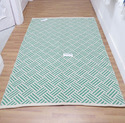 Modern Bedroom Washable Rugs Cotton Modern Indian