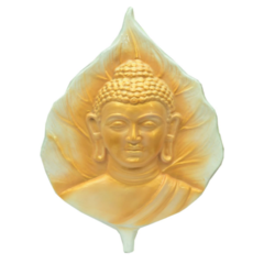 Golden Cream Buddha Wall Hanging