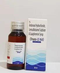 Ambroxal HCL, Guaiphenesin HCL & Livosulbutamol Sulphate