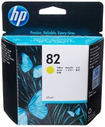 HP 82 69-ml Yellow DesignJet Ink Cartridge (C4913A)