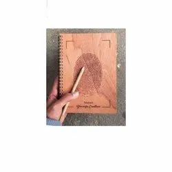 Brown Wooden Pen Book, For Event