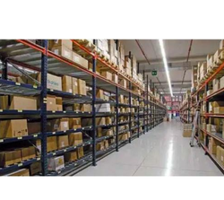 Paint Coated Warehouse Storage Rack