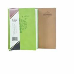 Paper Brown & Green Executive Diaries, Packaging Type: Polybag