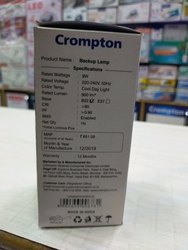 Crompton Chargeable Bulb 9w