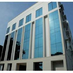 Structural Glass Glazing Facade Work
