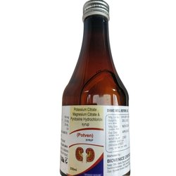 Potassium Citrate Magnesium Citrate and Pyridoxine Hydrochloride Syrup