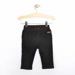 Cotton Black Boys Half Pant, Size: 24.0