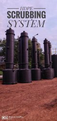 HDPE Spiral Gas Scrubber