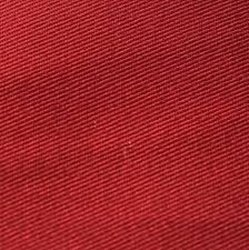 Plain Red Cotton Drill Caps fabric, Weight: 250 Gsm