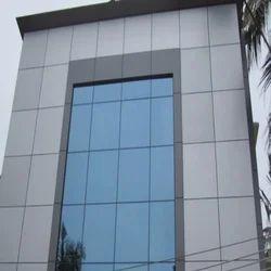 Metal ACP Glass Elevation