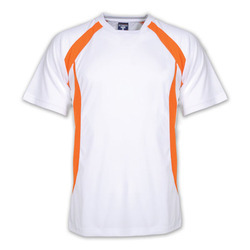 Sp Sports S and XL Mens White Sports T Shirt