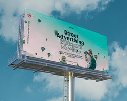 Aluminum Rectangle Blockout Flex, For Advertising