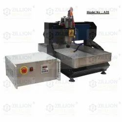 Mini 3axis CNC Machine With Steel Structure Body