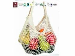 Fair Trade Organic Cotton String Bag