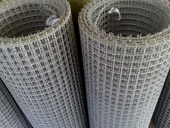 SS Twill Double Crimped Wire Mesh