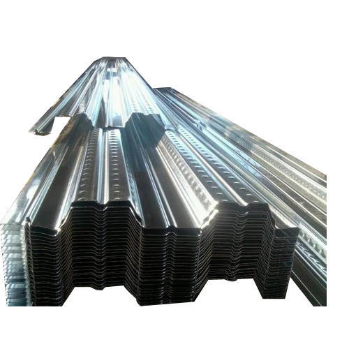 Ss 304 Steel Decking Sheet, Thickness: 1-2 mm