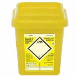 Medical Sharp Safe Waste Container 200 ml For Hospitals