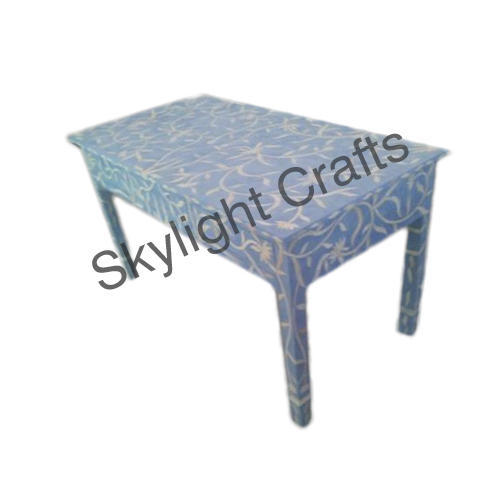 best service 7231d 85c78 Designer Bone Inlay Side Table