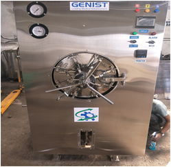 Fully Automatic Horizontal Cylindrical Autoclave