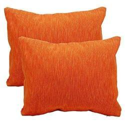 Orange Sofa Cushion